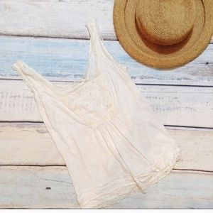 🌟5 for $25🌟 Urban Outfitters Dainty Lace Tank